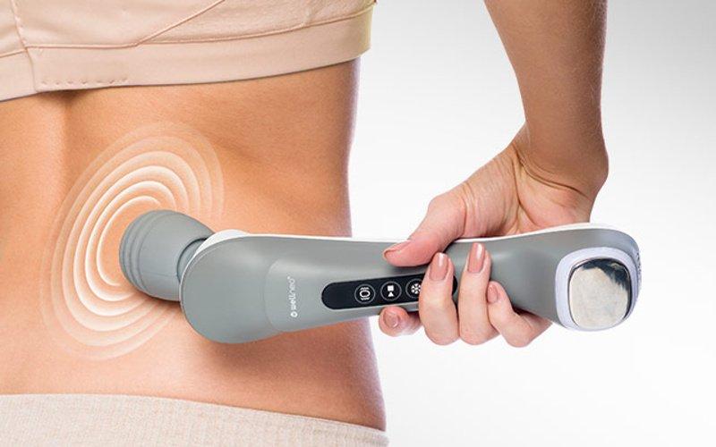 Vibrační masáž přístrojem Wellneo 3v1 Pro
