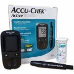 Accu-Chek Active Kit glukometr + příslušenství k monitorování glykémie 1 set