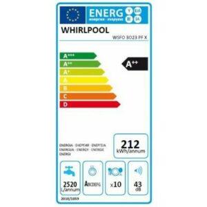 Whirlpool WSFO 3O23 PF X