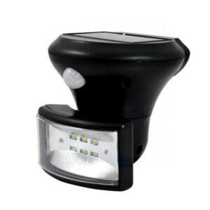 LED Solární senzorový reflektor PIR LED/5W IP44