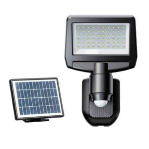 LED Solární senzorový reflektor TOMI LED/10W/7,4V IP44