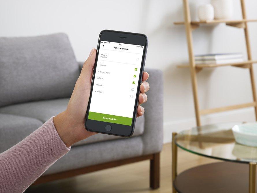iRobot Roomba s9 + WiFi - mobilní aplikace iRobot HOME