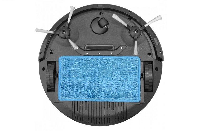 Robotický vysavač s mopovací textilií