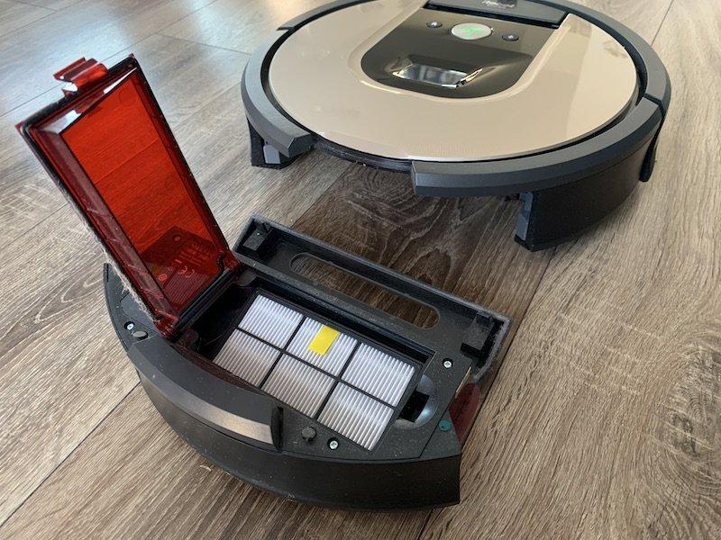 Sběrná nádoba - koš vysavače iRobot Roomba 976