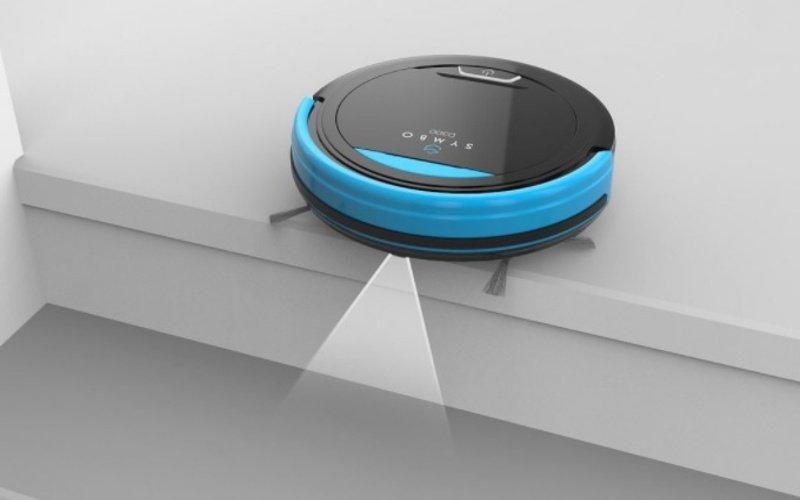 Senzory robotického vysavače Symbol D300B