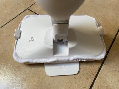 Hlavice parního čističe