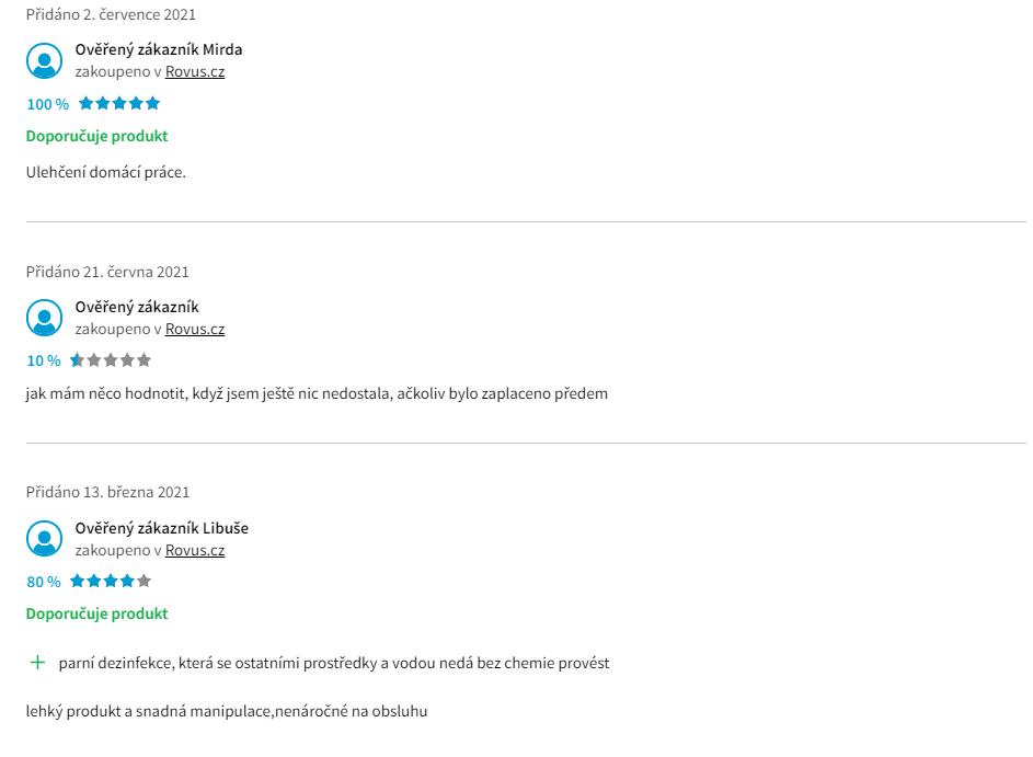 Rovus Nano 1100W - recenze zákazníků