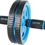 Sharp Shape AB Wheel blue - Posilovací kolečko