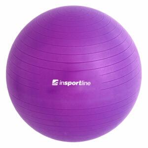 Gymnastický míč inSPORTline Top Ball 55 cm – fialová